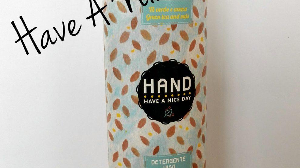 Detergente viso HAND