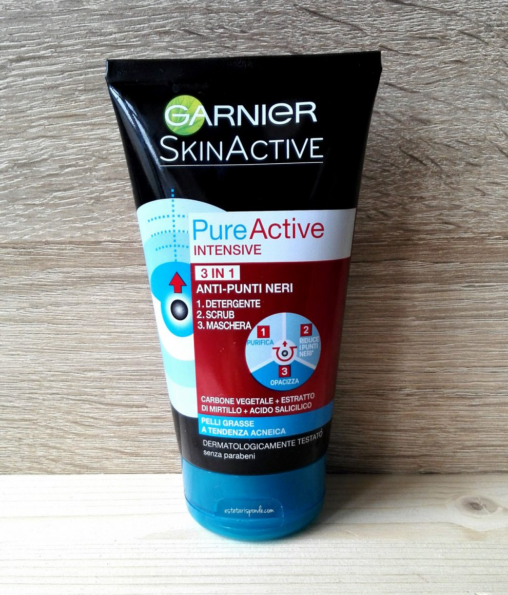 Garnier Pure Active Intensive gel 3 in 1