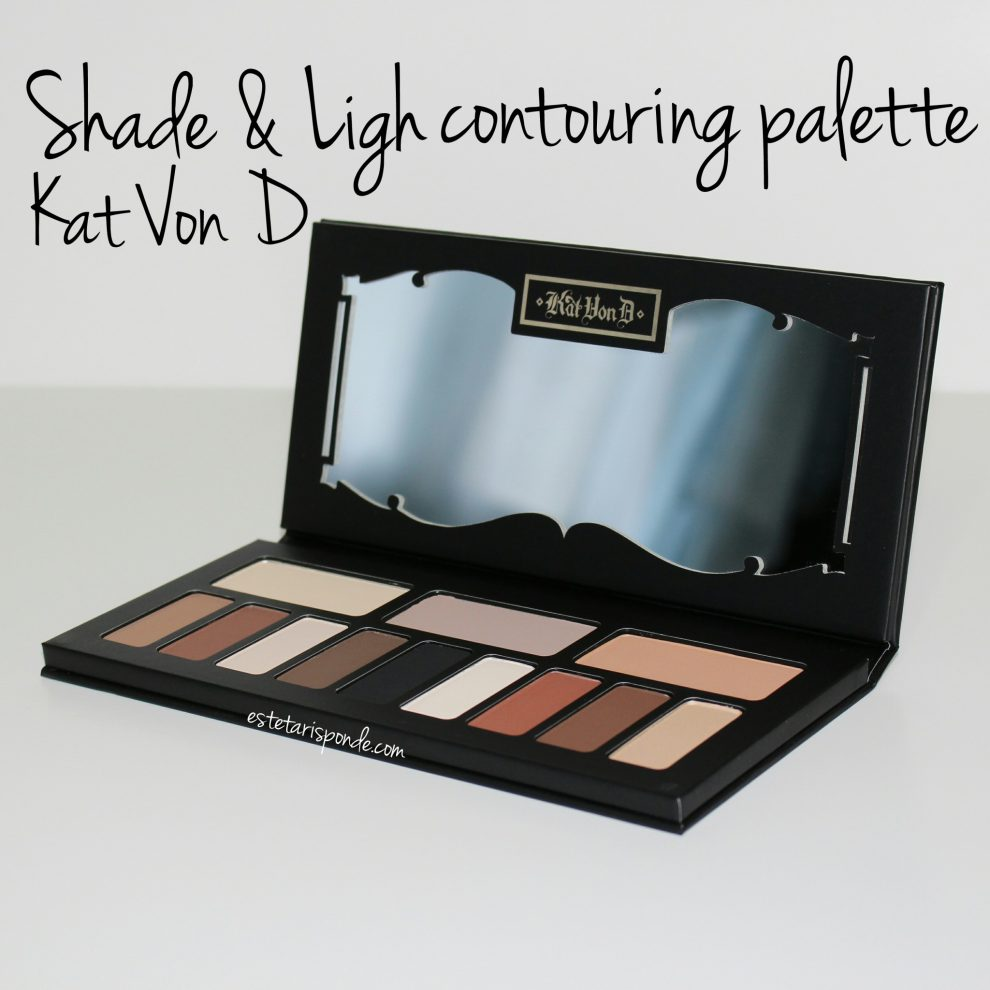 Palette contouring Shade & Light Kat Von D