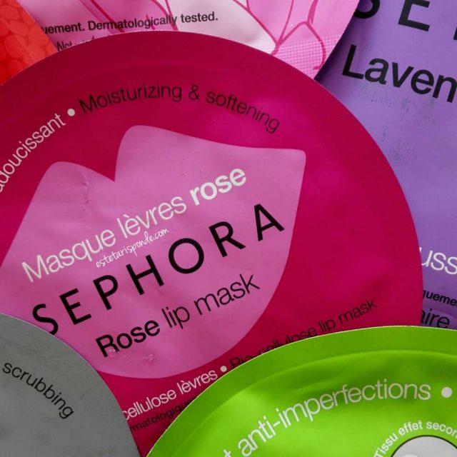 Maschere viso Sephora in tessuto