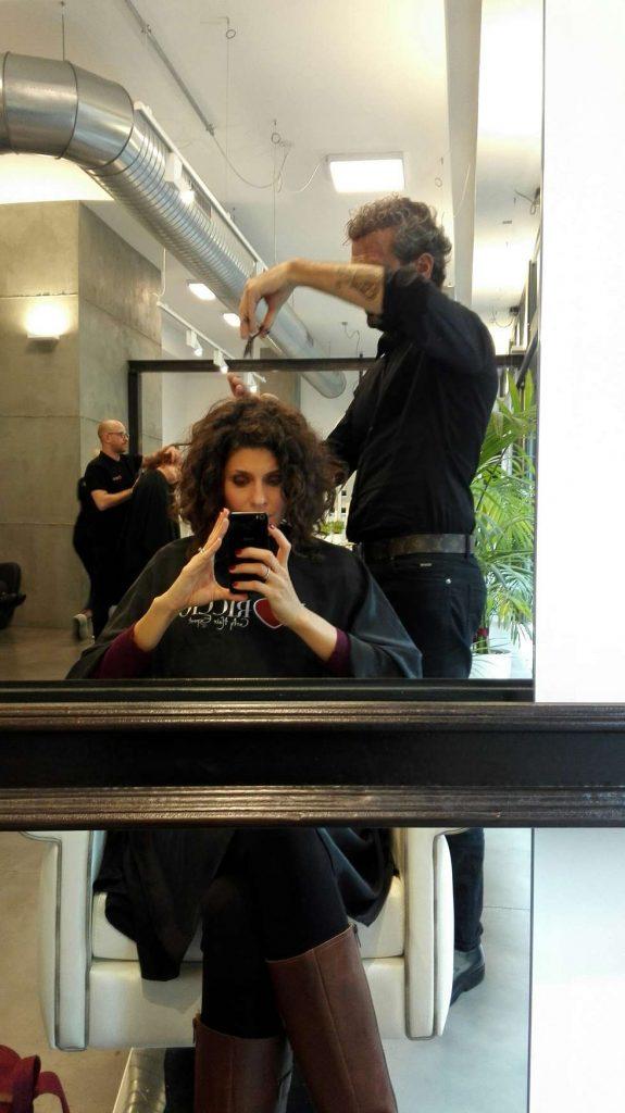 Taglio capelli ricci I Love Riccio Milano