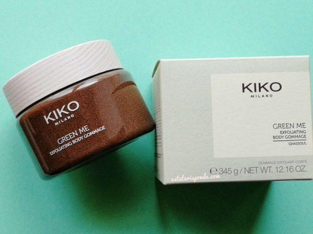 Recensione gommage naturale KIKO Green Me