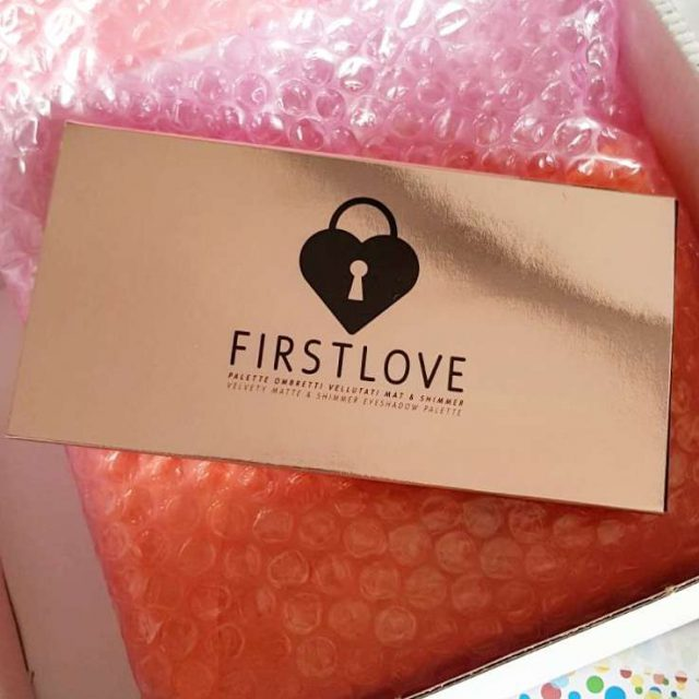 Palette occhi Clio MakeUp First Love packaging