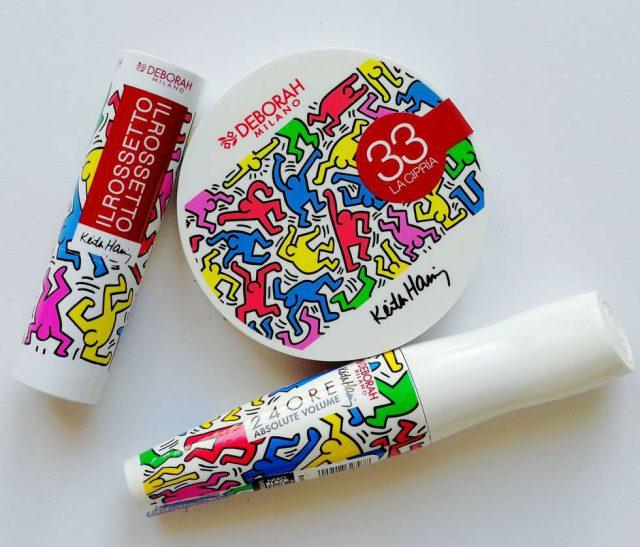 Deborah Milano collezione design Keith Haring