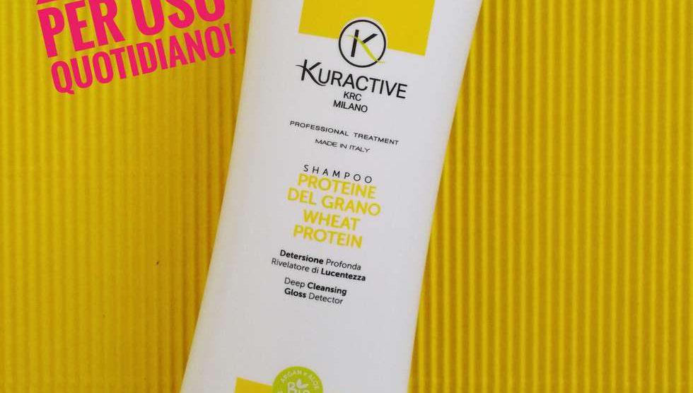 Shampoo Kuractive proteine del grano