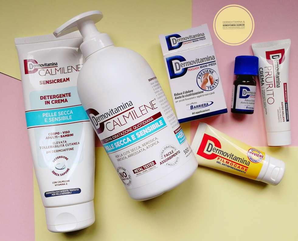 Prodotti Dermovitamina cute sensibile