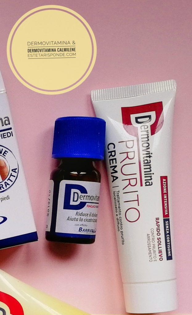 Dermovitamina crema prurito
