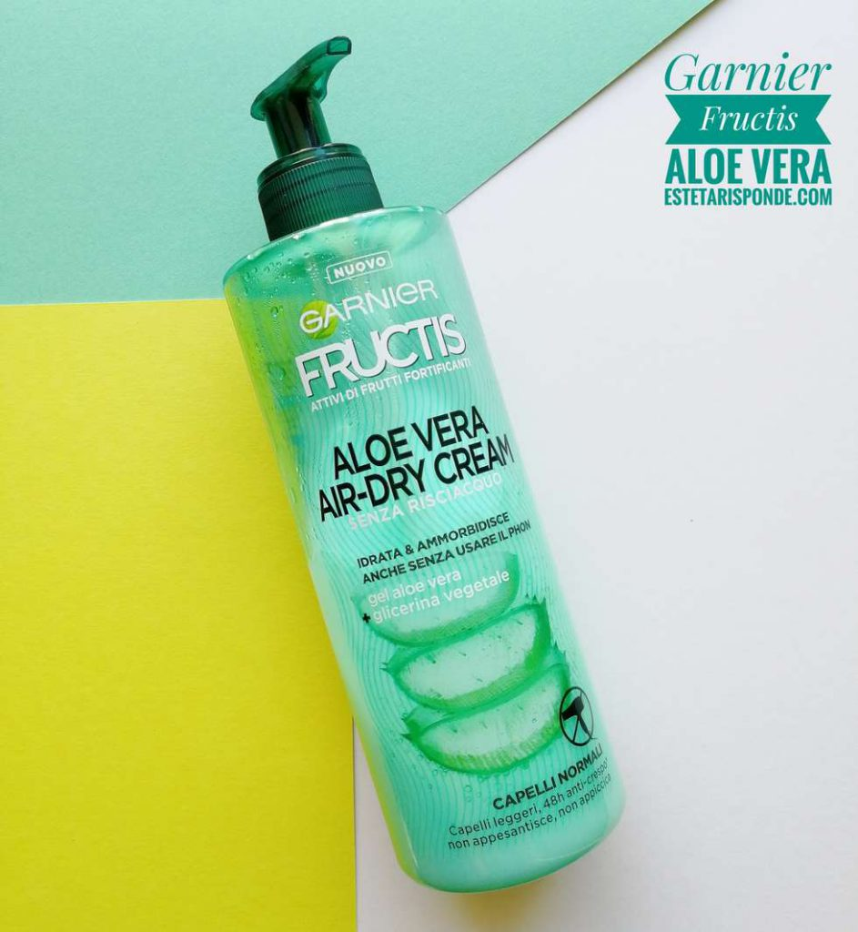 Garnier Fructis aloe vera crema disciplinante capelli ricci