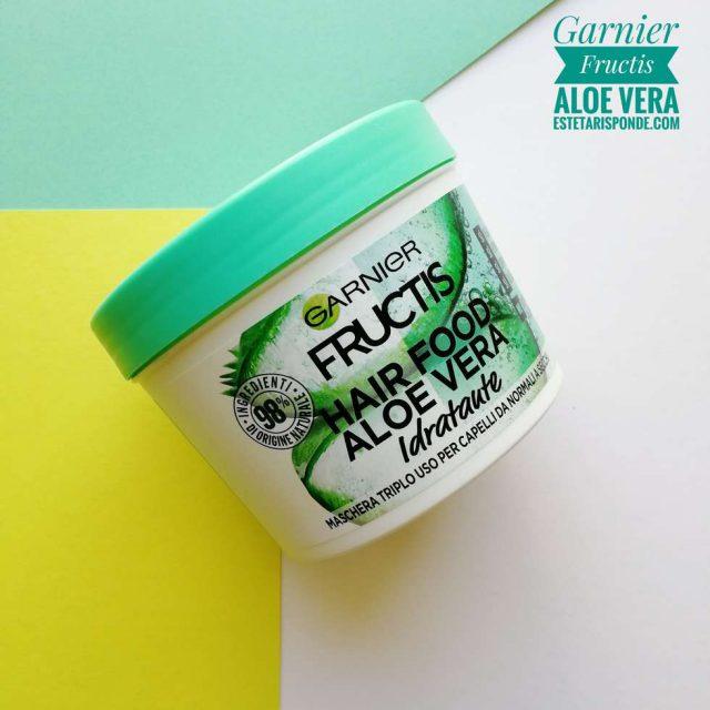 Garnier Fructis hair food maschera con gel di aloe vera